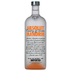Absolut Mandrin Vodka (750ml)