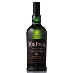 Ardbeg 10 Year Old Scotch Whisky (750ml)