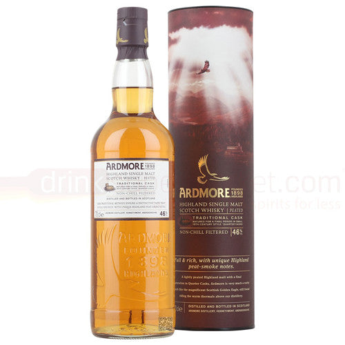 Ardmore Traditional Cask Speyside Single Malt Scotch Whisky (750ml)