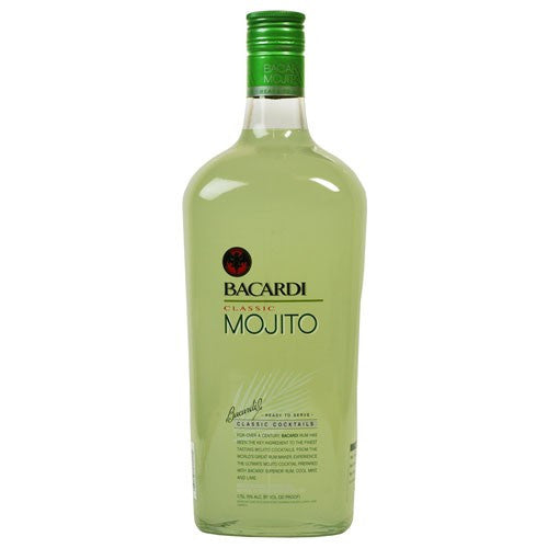 Bacardi Classic Cocktails Mojito Ready To Drink (1.75L)