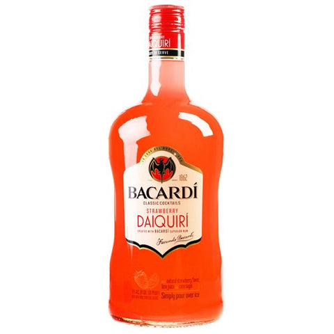 Bacardi Classic Cocktails Strawberry Daiquiri Ready To Drink (1.75L)