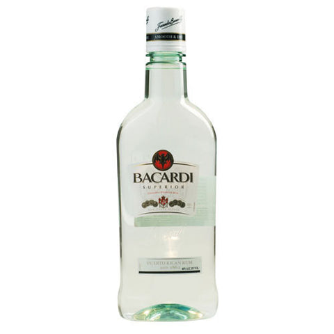Bacardi Superior White Rum Pet Package (750ml)