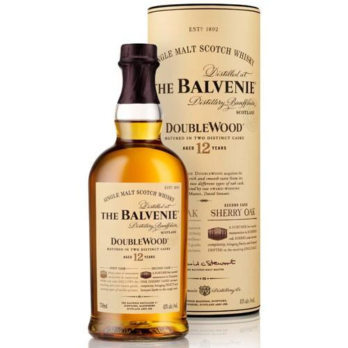Balvenie 12 Year Old Doublewood Single Malt Scotch Whisky (750ml)
