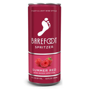 Barefoot Summer Red Spritzer 4pk (8.4oz btls)