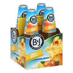 Bartles & Jaymes Fuzzy Navel Coolers (4pk 12oz btls)