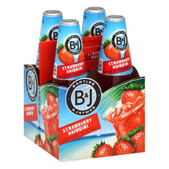 Bartles & Jaymes Strawberry Daiquiri Coolers (4pk 12oz btls)