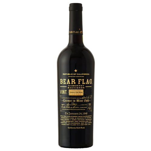 Bear Flag Cabernet Sauvignon, Sonoma County, CA, 2016 (750ml)