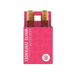 Beringer White Zinfandel, California, NV (4pk 187ml btls)