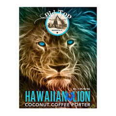 Big Top Brewing Hawaiian Lion Coconut Porter (6pk 12oz cans)