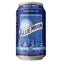 Blue Moon Belgian White Wheat Ale (12pk 12oz cans)