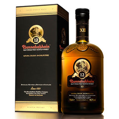 Bunnahabhain 12 year old Islay Single Malt Scotch Whisky (750ml)