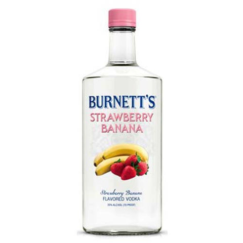 Burnetts Flavored Vodka Strawberry Banana (1.75L)