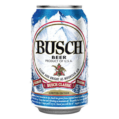 Image result for busch beer can
