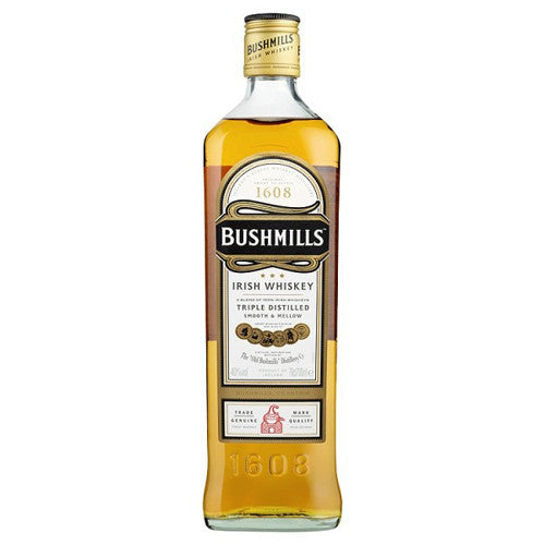 Bushmills Triple Distilled Irish Whiskey 750ml