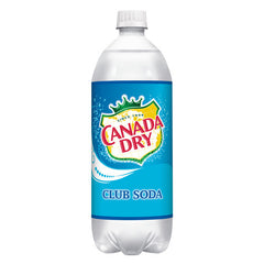 Canada Dry Club Soda (Single 1L bottle)