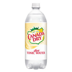 Canada Dry Diet Tonic (single 1L bottle)