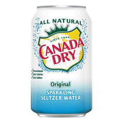 Canada Dry Sparkling Seltzer Water (8pk 12oz cans)