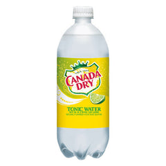 Canada Dry Tonic w/Twist of Lime (single 1L bottle)