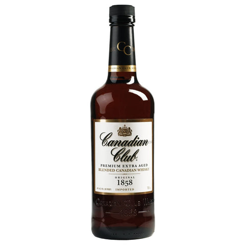 Canadian Club Premium Extra Aged Blended Canadian Whiskey (750ml)