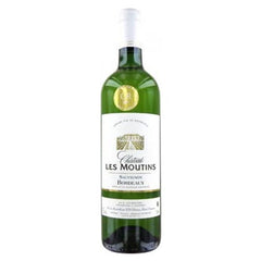 Chateau Les Moutins, White Bordeaux, France, 2014 (750ml)