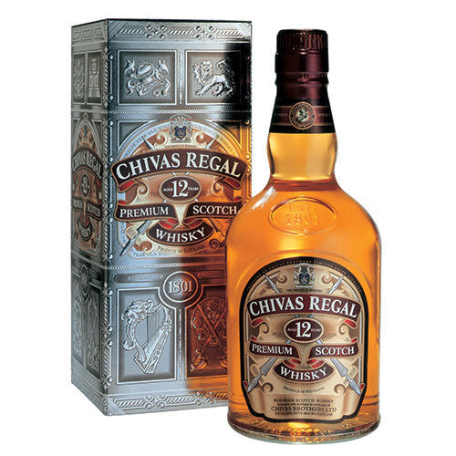 Chivas Regal 12 Year Old Blended Scotch Whisky (750ml)