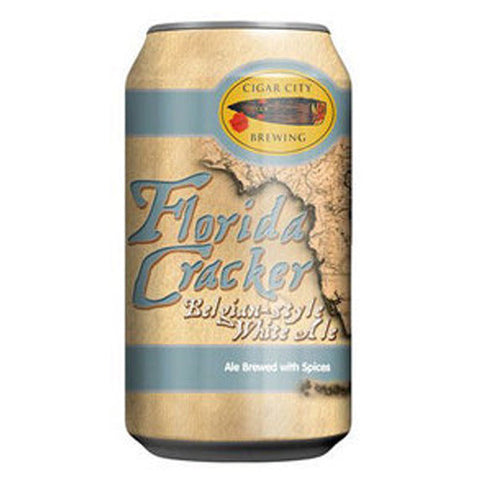 Cigar City Brewing Florida Cracker Belgian-style White Ale (6pk 12oz cans)