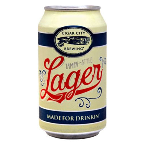 Cigar City Brewing Tampa Style Lager (6pk 12oz cans)