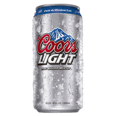 Coors Light (6pk, 12pk, 18pk & 24pk 12oz cans)
