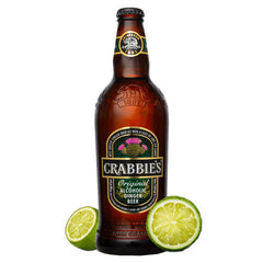 Crabbie's Original Alcoholic Ginger Beer (4pk 12oz btls)