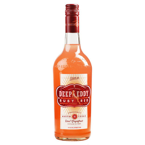 Deep Eddy Ruby Red Grapefruit Flavored Vodka (750ml)