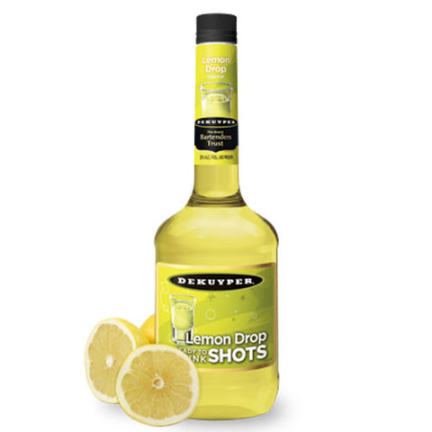 DeKuyper Lemon Drop Shots Liqueur (1 Liter)