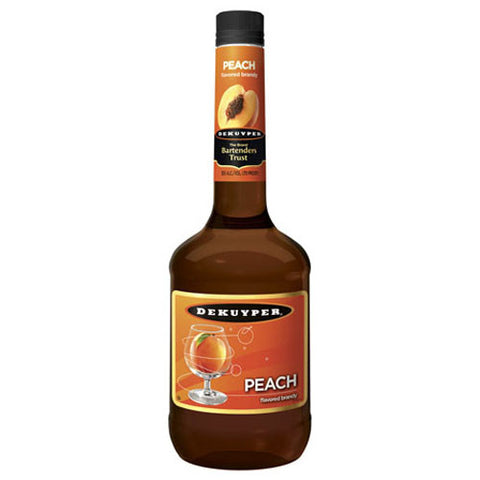 DeKuyper Peach Flavored Brandy (750ml)