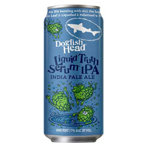 Dogfish Head Liquid Truth Serum IPA (4pk 16oz cans)