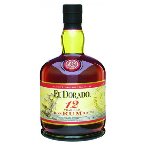 El Dorado 12 year old rum (750ml)