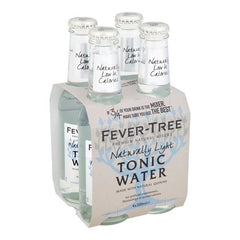 Fever Tree Naturally Light Tonic Water (4pk 200ml btls)