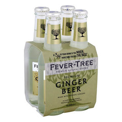 Fever Tree Ginger Beer (4pk 200ml btls)