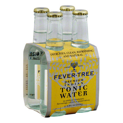 Fever Tree Indian Tonic Water (4pk 200ml btls)
