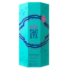 Fish Eye Pinot Grigio, South Eastern Australia, 2016 (3L BOX)