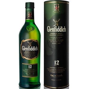 Glenfiddich 12 Year Single Malt Scotch Whisky (750ml)