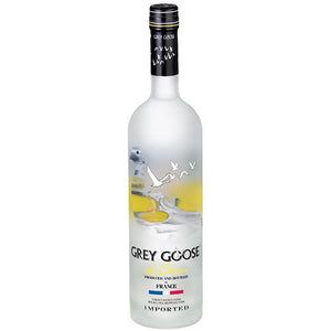 Grey Goose Le Citron Vodka (750ml)