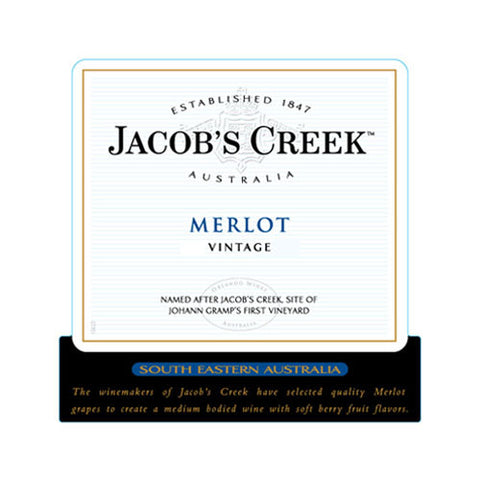 Jacob's Creek Merlot, South Eastern Australia, 2013 (1.5L)