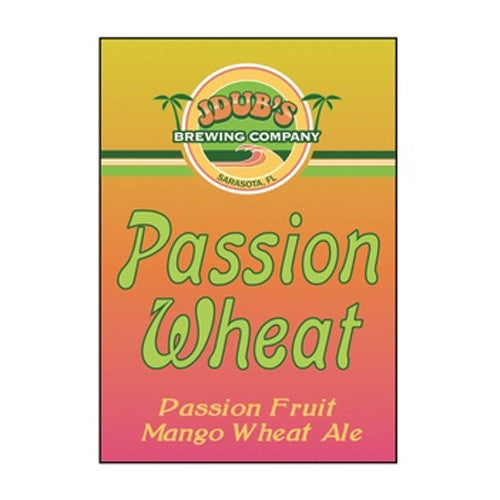 JDub's Passion Wheat Ale (6pk 12oz cans)