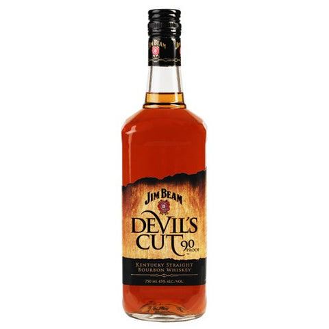 Jim Beam Devil's Cut 90 Proof Kentucky Straight Bourbon Whiskey (750ml)