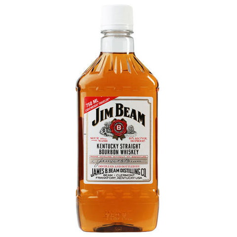 Jim Beam Kentucky Straight Bourbon Whiskey PET Package (750ml)