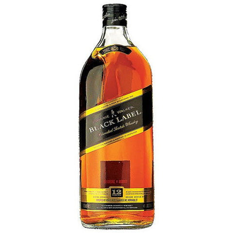 Johnnie Walker Black Label 12 Year Blended Scotch Whisky (1.75L)