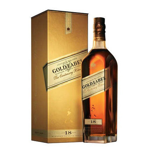 Johnnie Walker Gold Label 18 Year Blended Scotch Whisky (750ml)