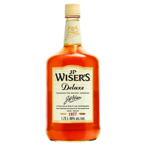 JP Wiser's Deluxe Canadian Whiskey (1.75L)