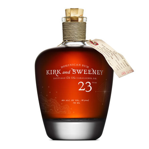 Kirk and Sweeney 23yr Rum (750ml)
