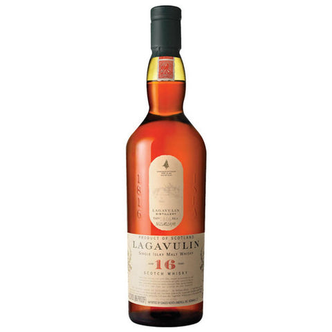 Lagavulin 16 Year Single Islay Malt Whisky (750ml)