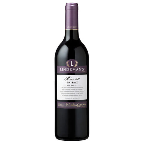 Lindemans Bin 50 Shiraz, South Eastern Australia, 2014 (750ml)
